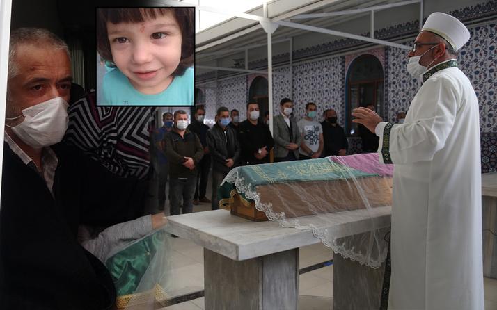 Kocaeli'de 2 yaşındaki çocuk ekmek yüzünden öldü! Cenazede son bakışı yürek burktu