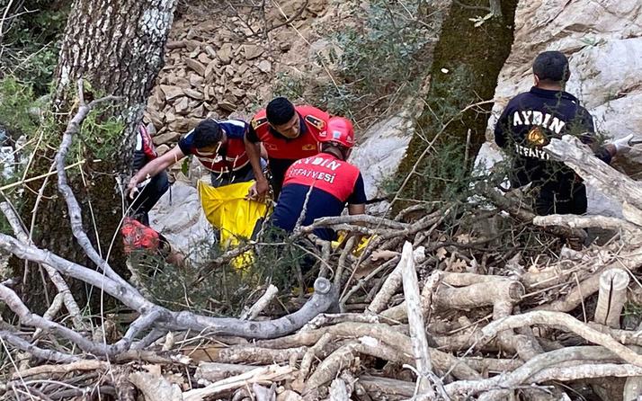 Aydın'da ölüm saniyelerle ailesinden ayırdı: Eşini ve oğlunu bıraktı uçuruma yuvarlandı
