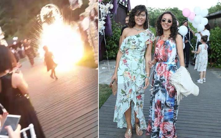 İstanbul'da düğüne giden genç kadına ' havai fişek' kabusu: Sakat kaldı