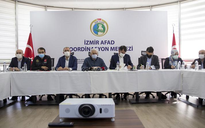 Bakan Murat Kurum'dan İzmir depremiyle ilgili önemli açıklamalar eşya ve kira yardımı yapılacak