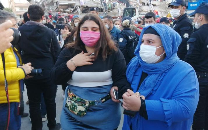 İzmir'de arama kurtarma çalışmaları sürüyor: Saatler sonra kız çocuğu sesi duyuldu