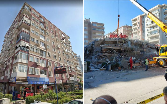 Rızabey Apartmanı'nın yıkılmadan önceki halinin fotoğrafları ortaya çıktı