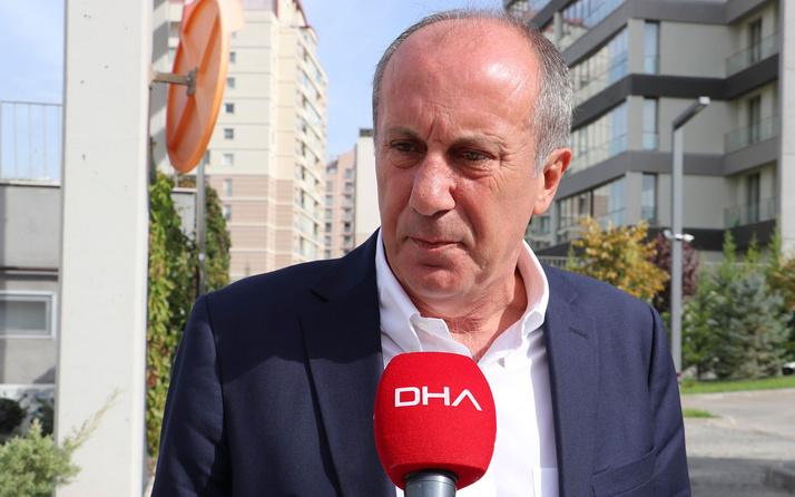 Muharrem İnce: Kılıçdaroğlu'nun konuşmasını heyecanla bekliyorum
