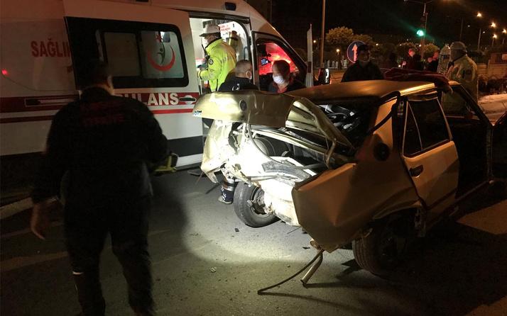 Kayseri'de ölüme terk ediş! Çarptığı otomobilde yaralıları bırakıp kaçtı