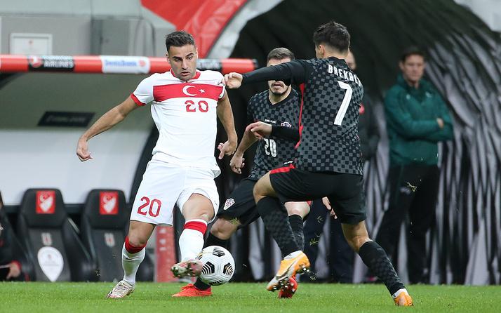 Türkiye Hırvatistan maçı golleri ve geniş özeti