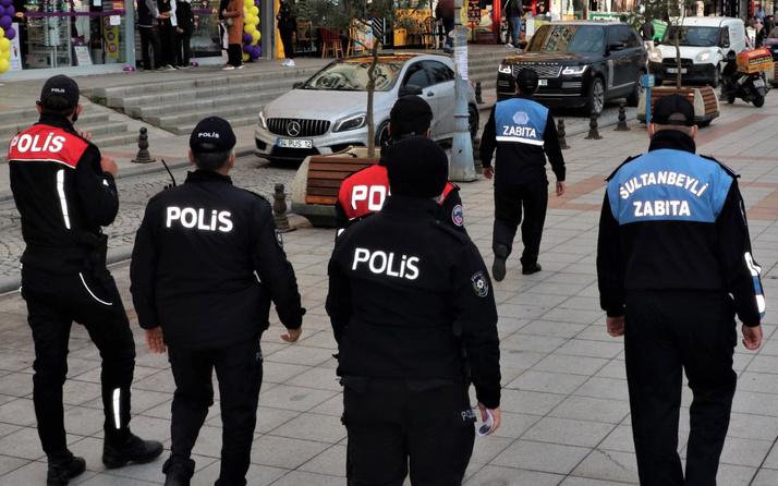 Sultanbeyli'de kahvehane ve nargile kafelere yapılan Covid-19 denetimlerinde 1 milyon lira ceza