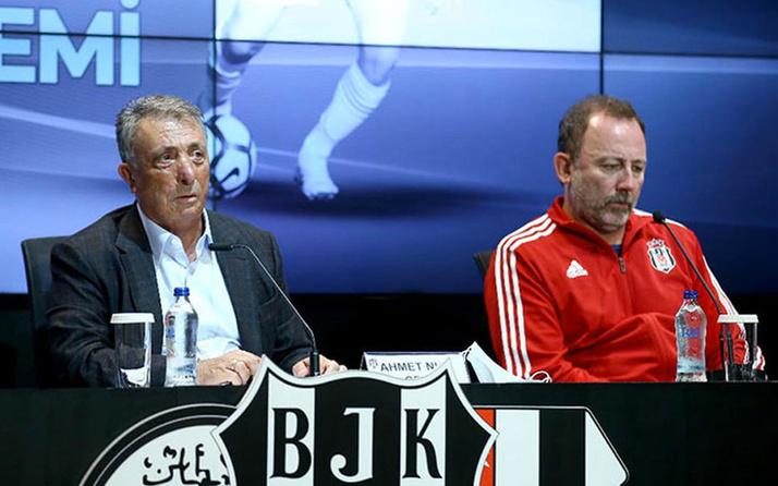 Sergen Yalçın Beşiktaş'tan istifa edecek mi? İlk kez konuştu