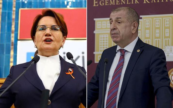 Meral Akşener'den Ümit Özdağ'ın iddiasına yanıt