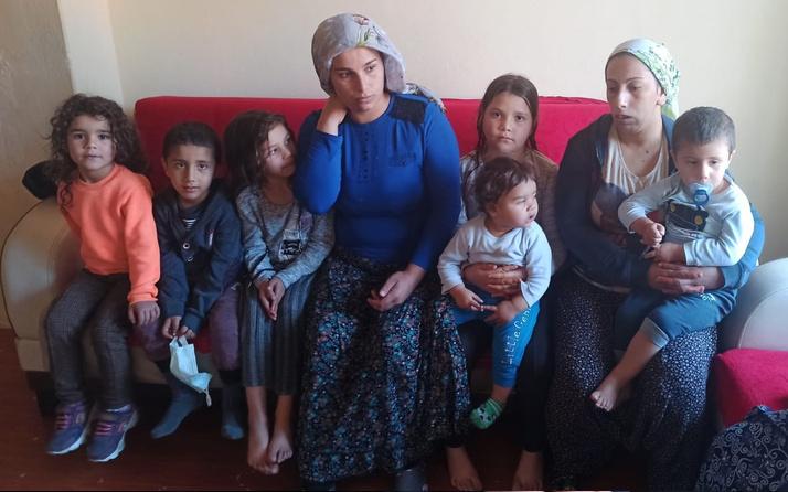 Malatya'da 3 kadın kocalarından ayrı yaşıyor! 11 çocukla beraber