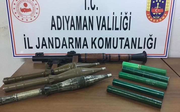 PKK'ya ait 3 odalı mağarada 1 askeri şehit eden roketatar ele geçirildi