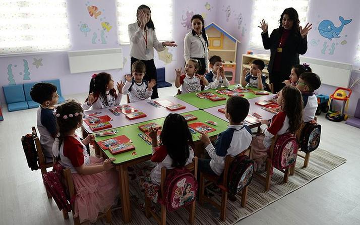 Milli Eğitim Bakanlığı'ndan anaokulları için karar: Eğitime devam edilecek