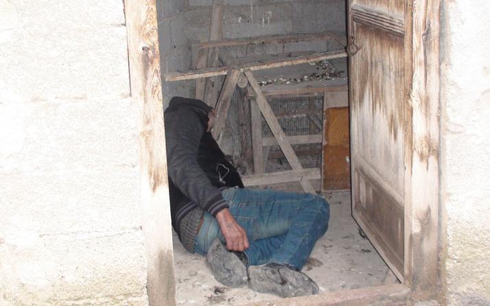 Karaman'da ilginç olay! Kümeste gördü hemen telefona sarıldı