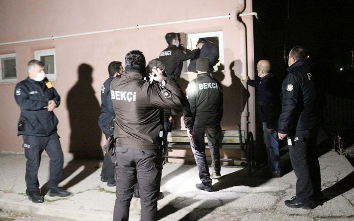 Aksaray'da müdürlük binasında hırsızlık alarmı: Bekçiler tuvalet penceresinden müdahale etti