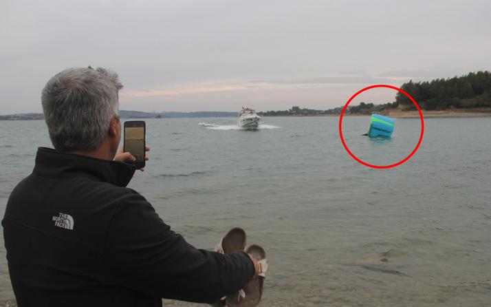 Adana'da denizde gören telefona sarıldı! Gerçek çok farklı çıktı