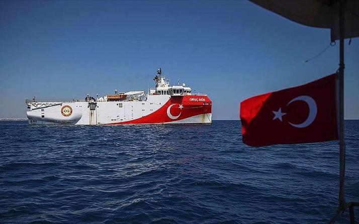 Oruç Reis gemisi Antalya Limanı'na döndü