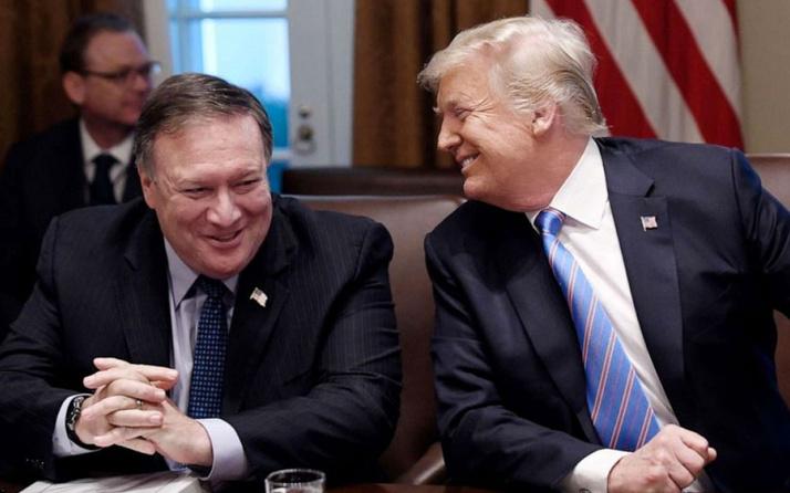 ABD Başkanı Donald Trump, Pompeo'ya İran konusunda sınırsız yetki verdi