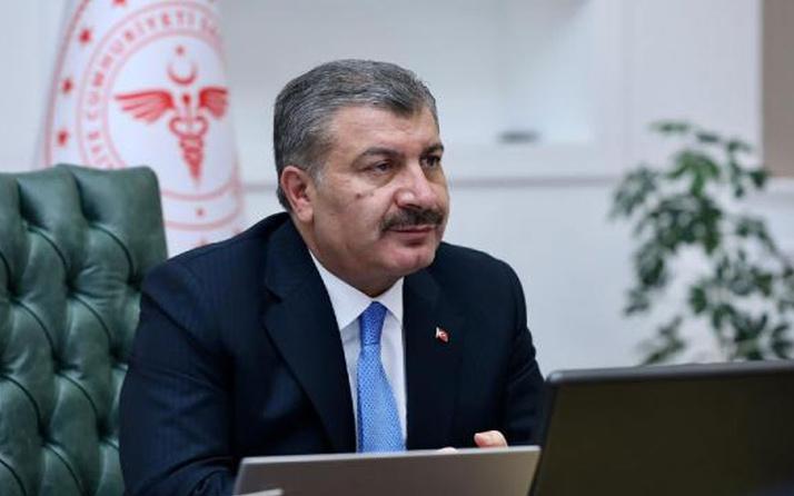 Sağlık Bakanı Fahrettin Koca 4 ilin sağlık müdürüyle görüştü! 2 ilde yüzde yüz artış var