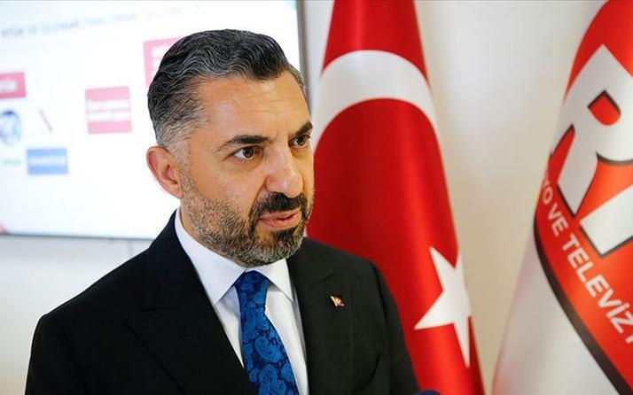 RTÜK Başkanı Ebubekir Şahin: Ordumuz başta olmak üzere milli ve manevi değerlerimizi korumaya devam edeceğiz