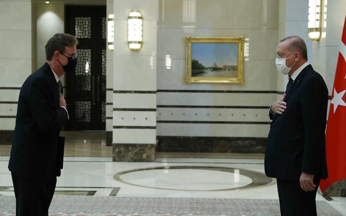 AB Türkiye Delegasyonu Başkanı Büyükelçi Erdoğan'a güven mektubu sundu