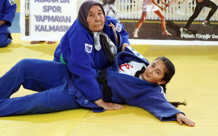 Adana'da 80 yaşında judoya başladı 2 yıl sonra koronavirüse yenildi