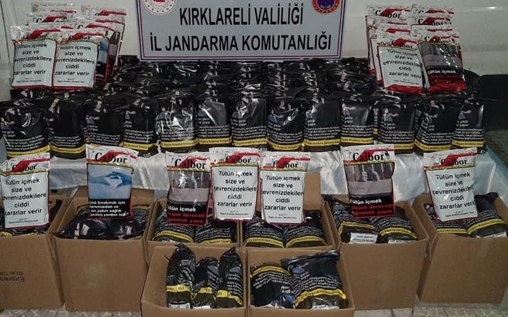 Kırklareli'de operasyon düzenlendi! 730 kilogram ele geçirildi