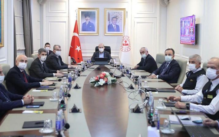 İçişleri Bakanı Süleyman Soylu'dan 81 ilin valilerine talimat