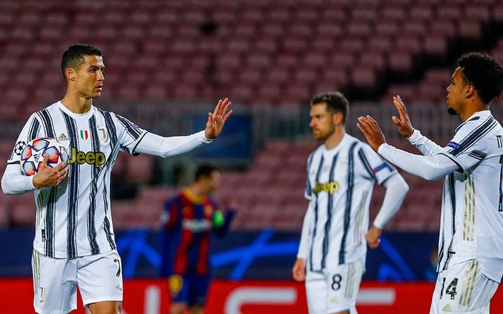 Juventus, Barcelona'yı paramparça etti