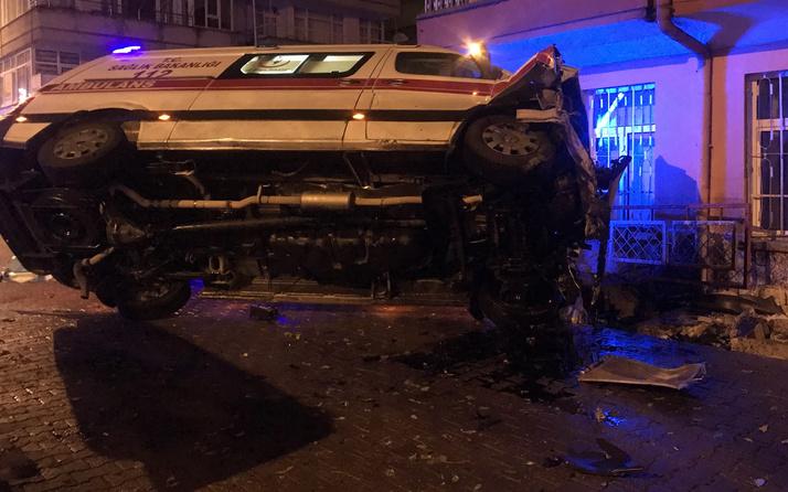 Kayseri'de ambulans kaza yaptı: Çok sayıda yaralı var