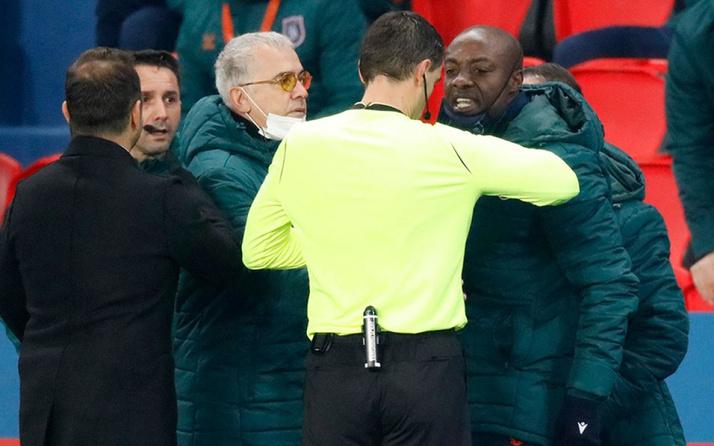 Fransa spor bakanından Başakşehir ve PSG oyuncularına destek mesajı