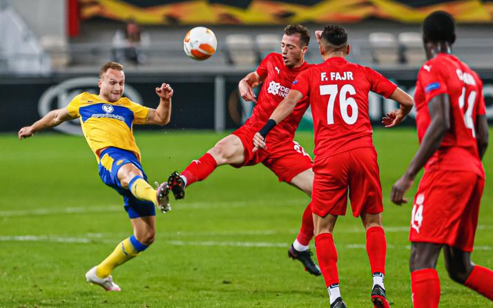 Maccabi Tel-Aviv'e yenilen Sivasspor, Avrupa Ligi'nden elendi