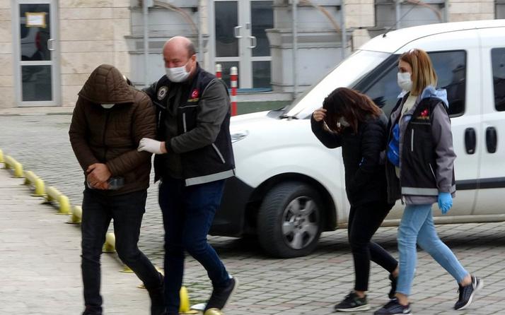 Samsun'da evli çift uyuşturucuyla yakalandı