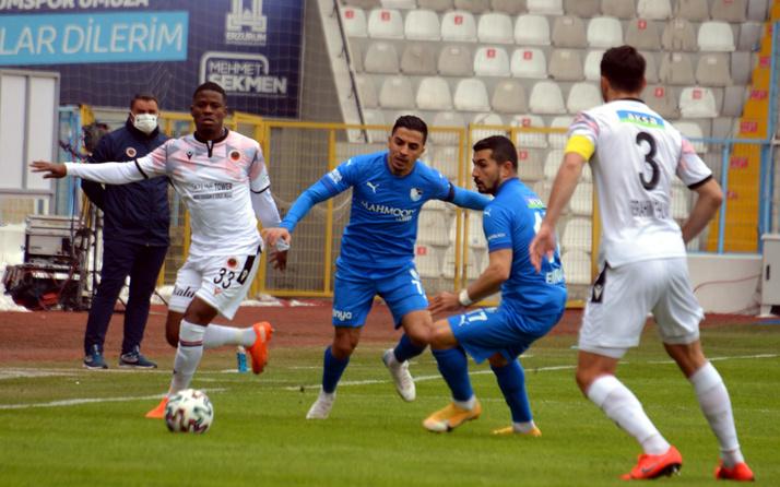 Gençlerbirliği, BB Erzurumspor'u deplasmanda tek golle geçti
