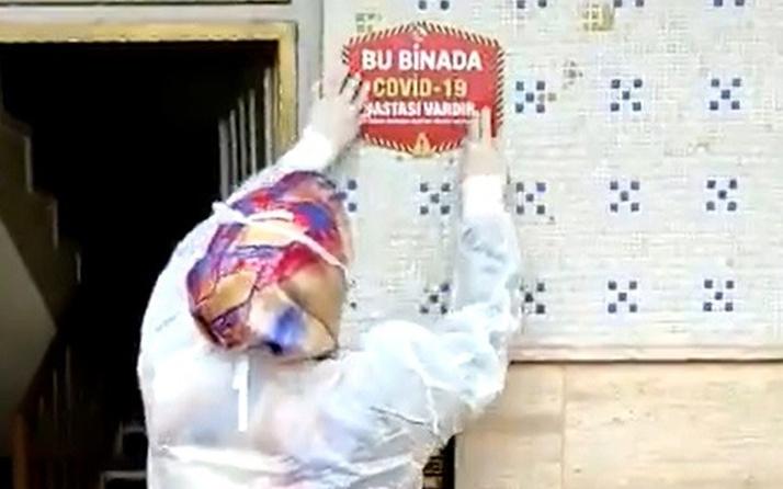 Elazığ'da salgında yeni dönem! Sağlık Müdürlüğü evlere asmaya başladı