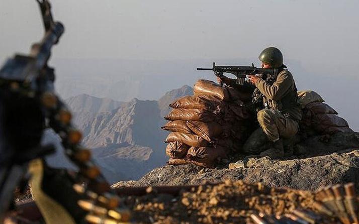 MB duyurdu: Fırat Kalkanı bölgesinde 4 terörist öldürüldü