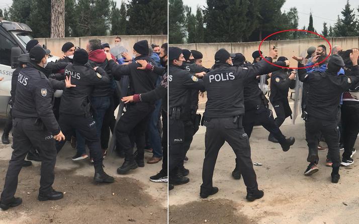 Mahallede tansiyon yükseldi! Bursa'da belediye ekipleri ve polise saldırdılar