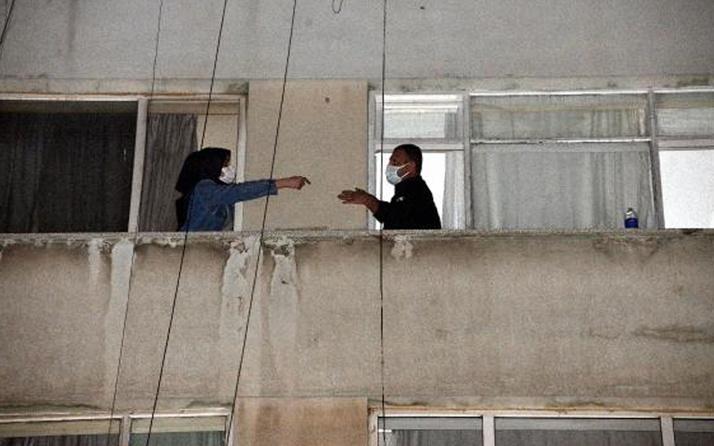 Kahramanmaraş'ta atılan yardım çığlıkları! Pencereden yan daireye geçerek kurtuldu