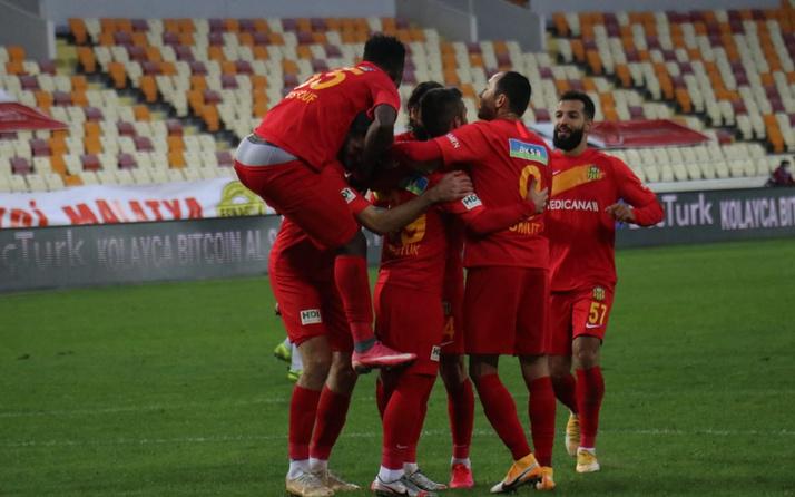 Yeni Malatyaspor Kasımpaşa'yı 2 penaltı golüyle mağlup etti