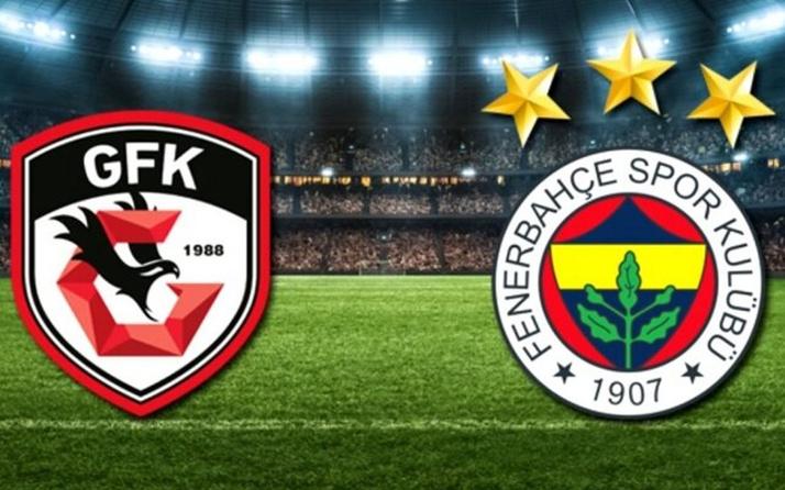 Gaziantep FK- Fenerbahçe maçı özet ve golleri