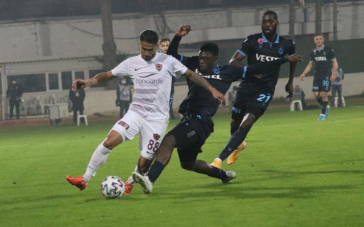 Hatayspor - Trabzonspor karşılaşmasının önemli anları