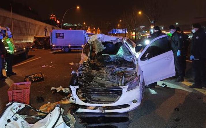 Ankara'da alkollü sürücü kazaya karıştı: 2 kişi öldü 2 kişi yaralandı