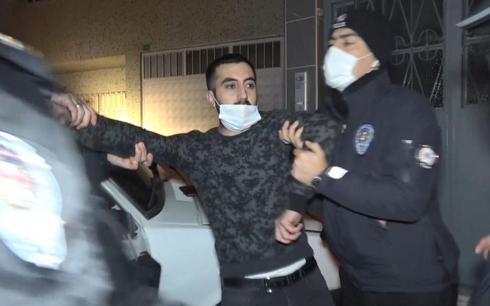 Bursa'da polisten kaçarken evin duvarına çarptı, yakalanınca ağladı; Sen korku nedir bilir misin?