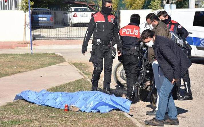 Antalya'da çocuk parkında vücudunda iğne izleri olan erkek cesedi bulundu