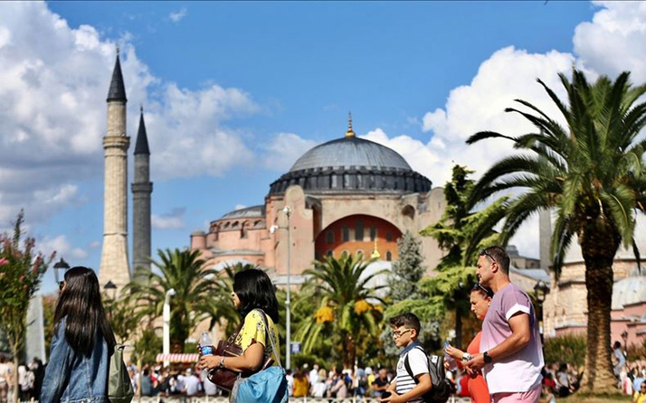 Kültür ve Turizm Bakanlığı açıkladı! Türkiye 11 ayda yaklaşık 14,5 milyon ziyaretçi ağırladı