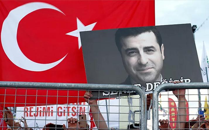22 barodan 'Demirtaş' açıklaması: AİHM kararı derhal yerine getirilerek tahliye edilmeli