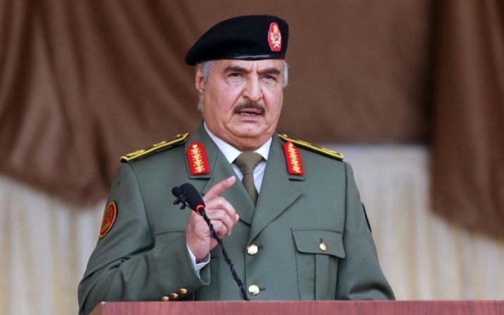 Darbeci Hafter'den tehdit: Türkiye savaşı seçti ülkeden kovun
