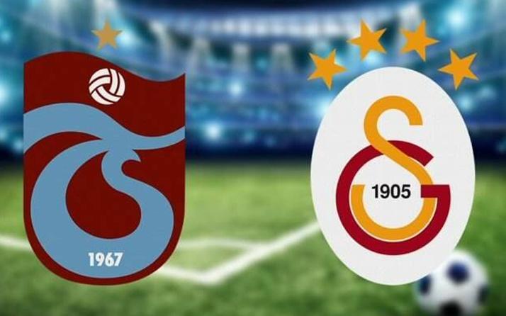 Trabzonspor Galatasaray Süper Lig maçı özet ve golleri