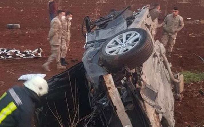 Şanlıurfa'da otomobil şarampole devrildi: 1 kişi öldü