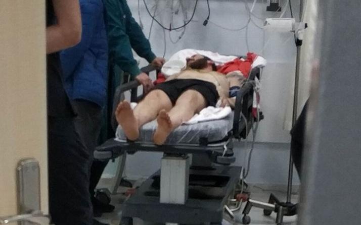 Samsun'da yılbaşı kutlamasında bir genç maganda kurşunuyla yaralandı