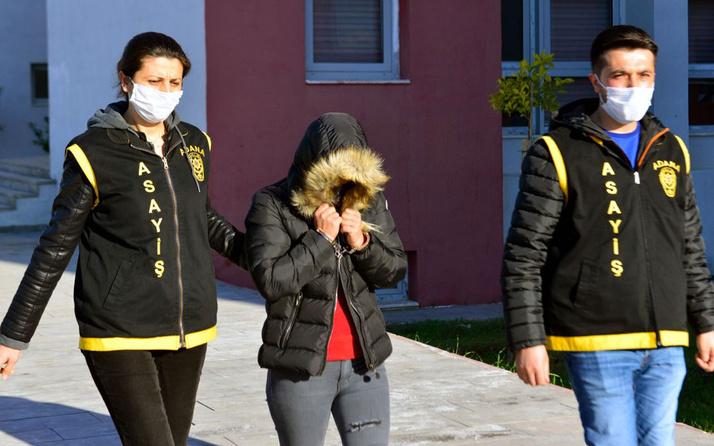 Adana'da cezaevinden kaçan kadın yakalandı