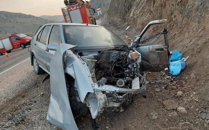 Tokat'ta kaza: 1 ölü 4 yaralı